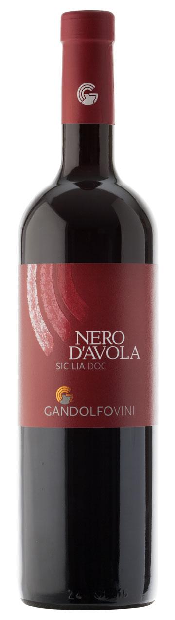 Bottiglia Nero d'Avola Sicilia DOC