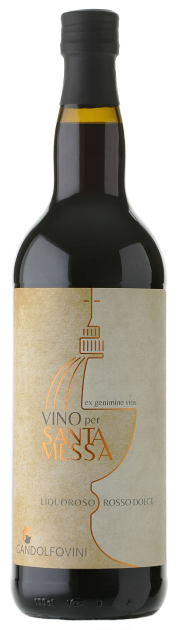 Holy Mass Fortified Red Wine bottle